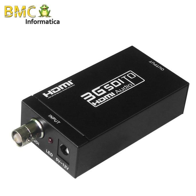 Conversor SDI para HDMI 1080P HD-SDI 3G-SDI