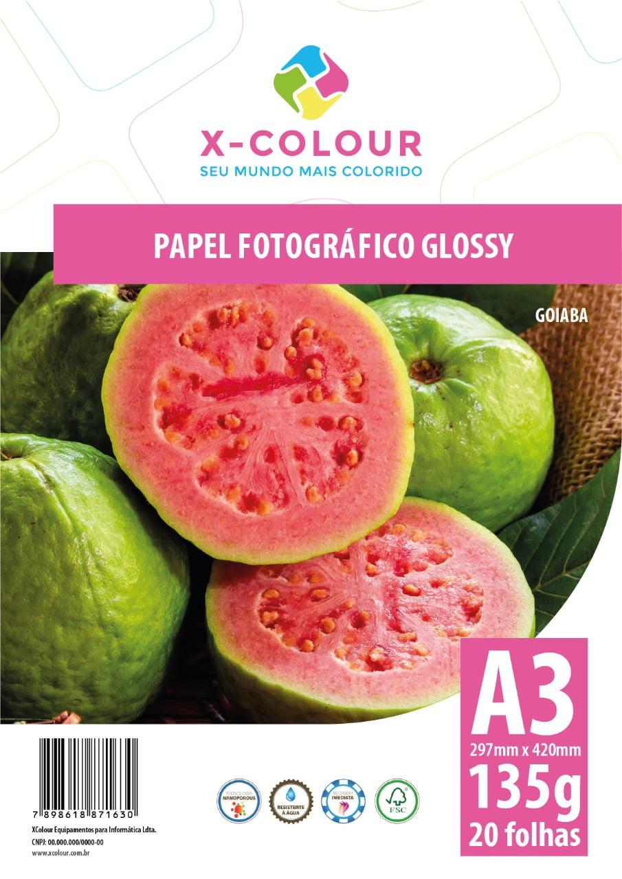 Papel Fotográfico Glossy A3 297X420mm 135g