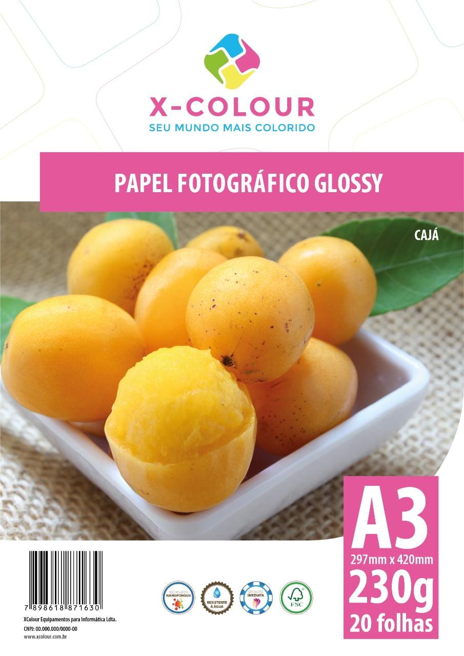 Papel Fotográfico Glossy A3 230g