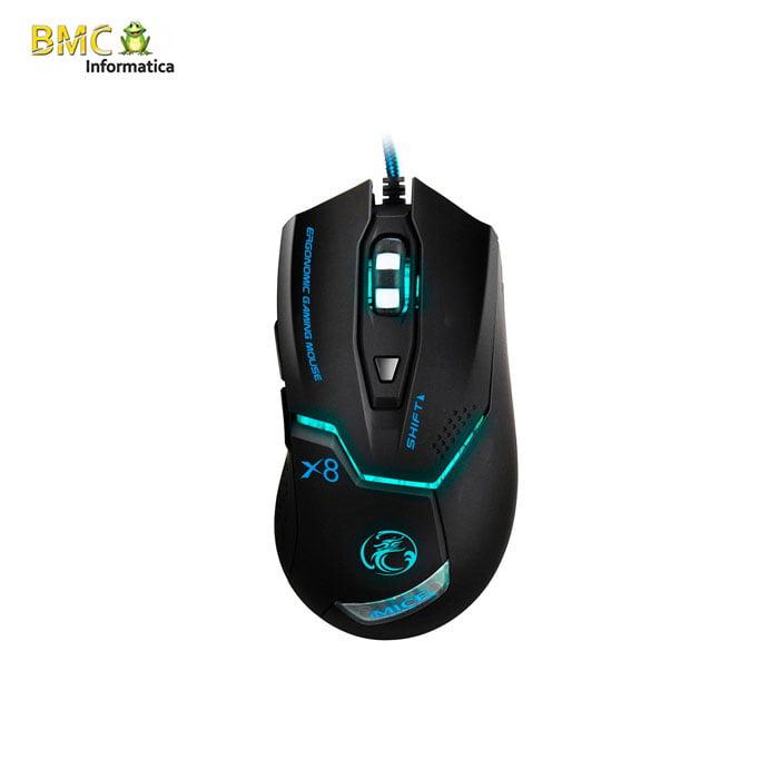 Mouse Estone X8 Gamer 3200DPI