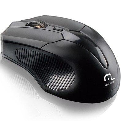 Mouse Wireless Sem Fio 1600DPI MO221 - MULTILASER