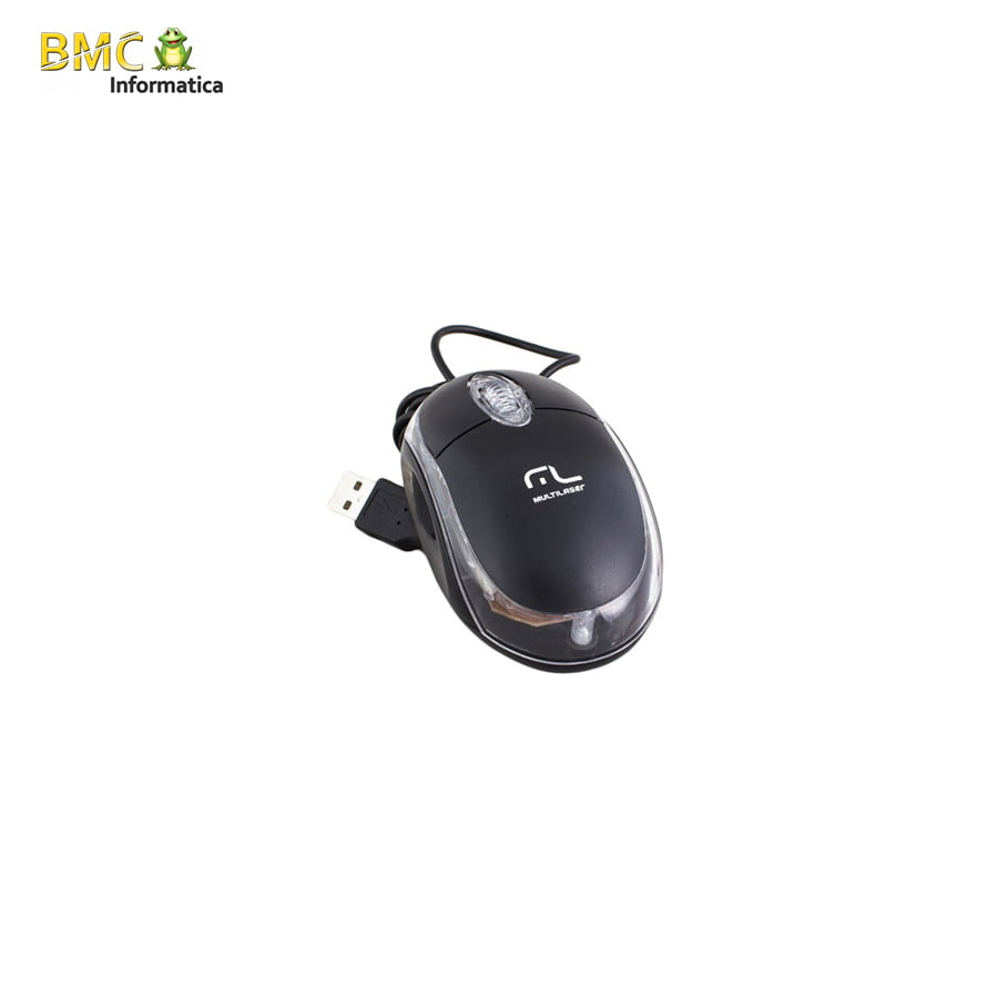 Mouse USB Standard PRETO MO179 - Multilaser