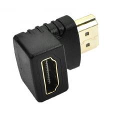 Adaptador HDMI 90º Graus M/F
