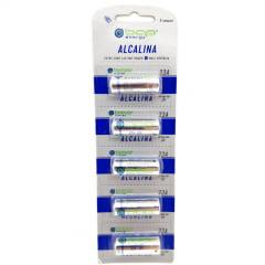 Bateria Alcalina 23A 12V com 5 unidades - BAP