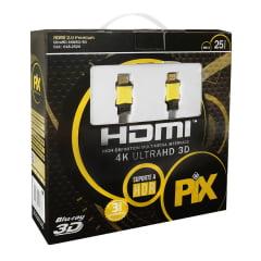 Cabo Ultra HDMI 25 Metros com Filtro 2.0 4K