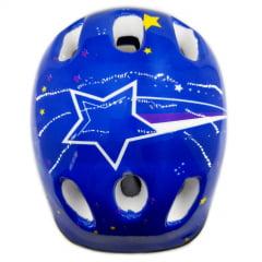 Capacete de Bicicleta Infantil - Estampado com estrelas