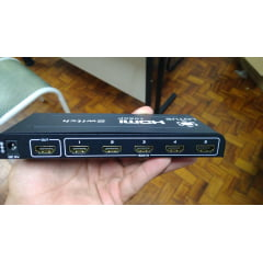 Switch HDMI 5X1 Full HD 1080P 3D Ativo