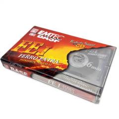 Fita Cassete EMTEC BASF Ferro Extra 46 minutos