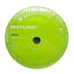 DVD-R Multilaser 16x 4.7GB com 50 Unidades