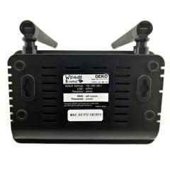 Roteador WiFi 300Mbps 2 Antenas 4p-lan 1p-wan R608u - Deko