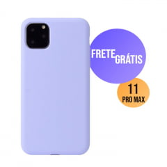 Capa Iphone 11 Pro Max Silicone Color