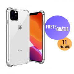 Capa Iphone 11 Pro Max Transparente Anti-Impacto