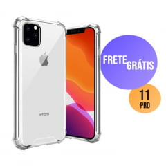 Capa Iphone 11 Pro Transparente Anti-Impacto