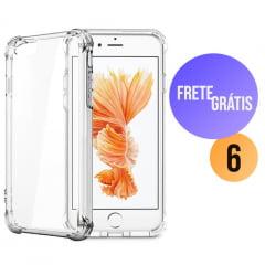 Capa para Iphone 6 Transparente Anti-Impacto