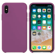 Capa Iphone X Silicone Color