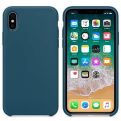 Capa Iphone XS Silicone Color