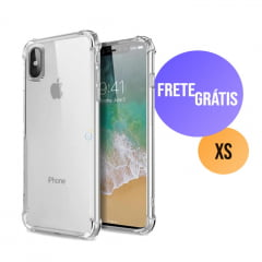 Capa Iphone XS Transparente Anti-Impacto