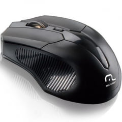Mouse Wireless Sem Fio 1600DPI MO221 - MULTILASER